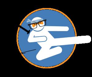 digital marketing ninjas doing kick-@$$ marketing work for you behind the scenes